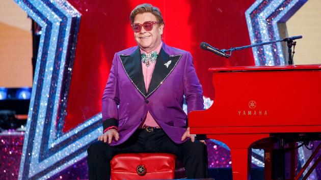 Elton John's been spending lockdown on a diet, reveals husband