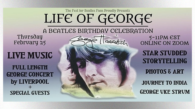 Virtual George Harrison birthday bash today to feature Joey Molland, Laurence Juber and more