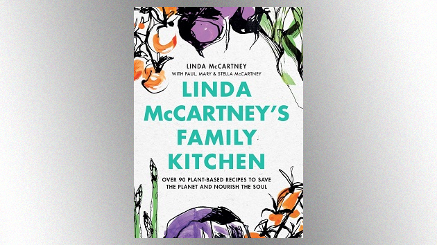 Paul McCartney and his daughters collaborate on new vegetarian cookbook featuring late wife Linda's recipes