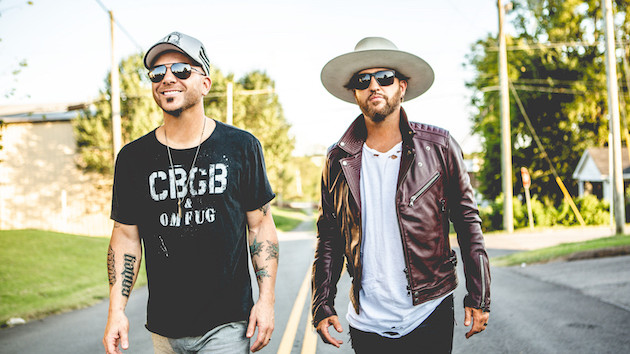 Ahead of the Super Bowl, LoCash head to Florida to perform a socially distanced show for health care workers