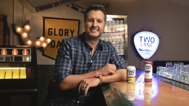 """Luke Bryan will """"Drink a Beer"""" once again with Two Lane lager relaunch and new line of hard seltzer"""