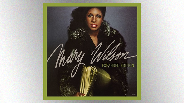 Expanded version of late Supremes singer Mary Wilson's debut solo album, featuring new song, due in April