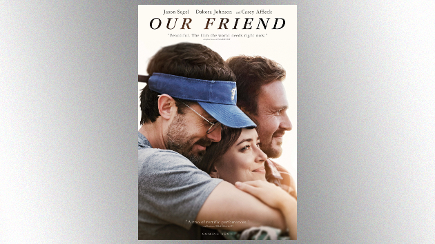 Jake Owen makes his big screen debut alongside Casey Affleck and Dakota Johnson in 'Our Friend'
