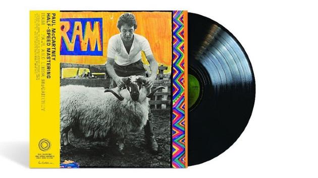 50th anniversary vinyl reissue of Paul and Linda McCartney's 1971 album 'Ram' due in May