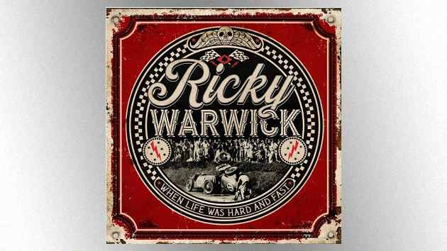 Check out Thin Lizzy singer Ricky Warwick's new solo song featuring Def Leppard's Joe Elliott