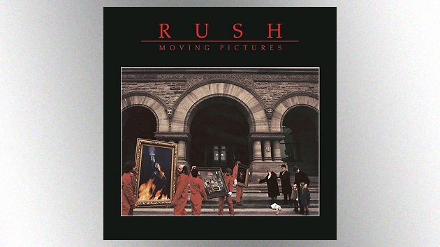 Rush's best-selling album, 'Moving Pictures,' celebrates its 40th anniversary today