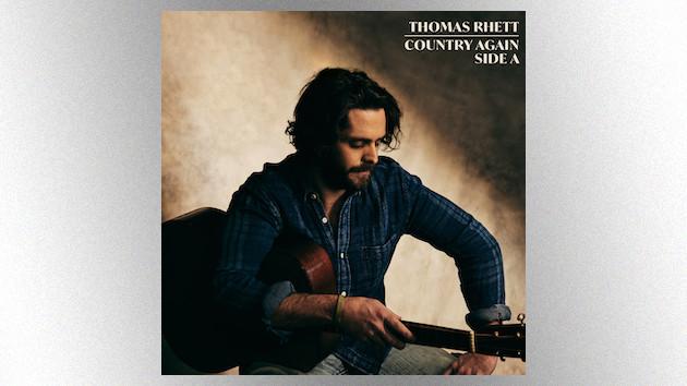 Thomas Rhett mounts a full-band livestream event from Nashville to celebrate his album release