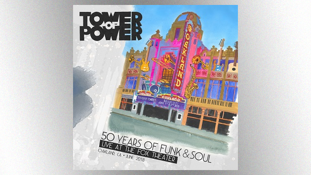 Tower of Power releases new live album and concert video, '50 Years of Funk & Soul'