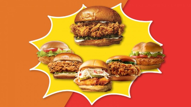 Competition heats up as fast food chains rollout new crispy chicken sandwiches