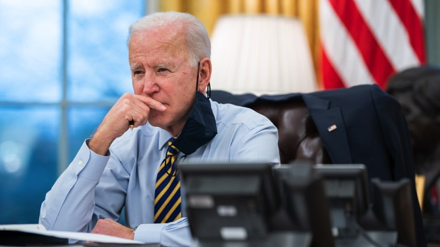 Biden holds first Cabinet meeting the day after proposing sweeping infrastructure plan
