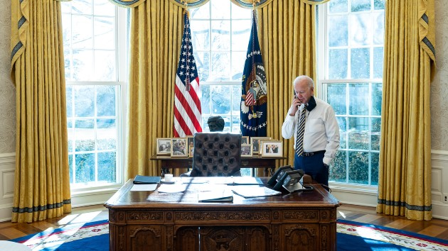 Biden speaks with China's Xi for first time as president