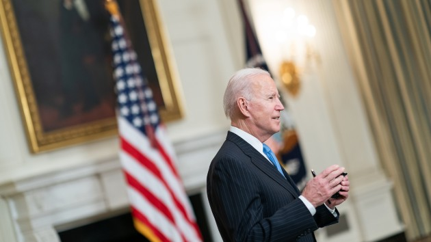 Biden faces challenge of highlighting progress without relaxing restrictions