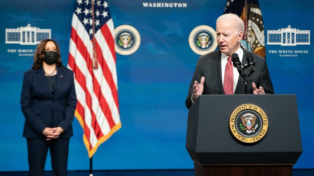 Biden's first 100 days live updates: Senate passes COVID relief bill along party lines