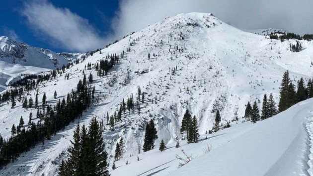 Three skiers buried in 'large avalanche' found dead