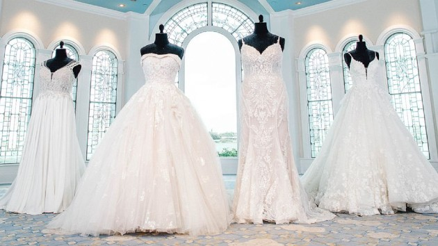 First look at the 2021 Disney Fairy Tale Weddings Collection