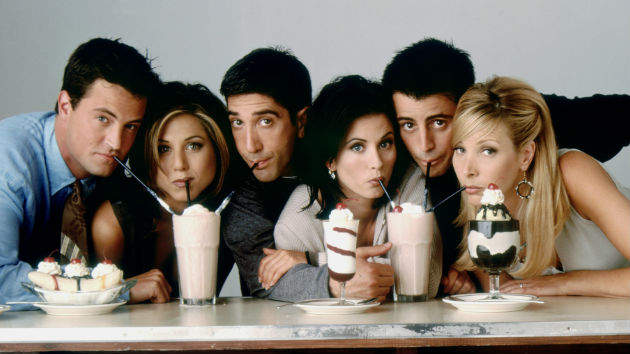 The long-awaited 'Friends' reunion finally getting underway