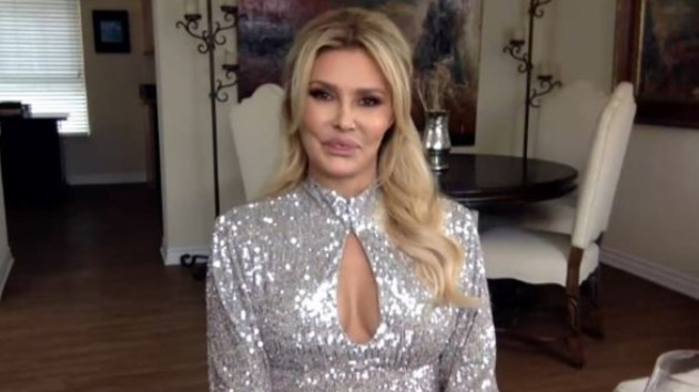 """'Real Housewives' star Brandi Glanville apologizes after tweeting """"You can have my rib cage"""" to Armie Hammer"""