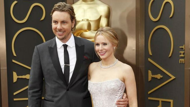 Spouses Kristen Bell and Dax Shepard get together for NBC's 'Family Game Fight'