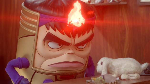 Marvel villain struggles with work-life balance in preview of Hulu's animated 'M.O.D.O.K.'