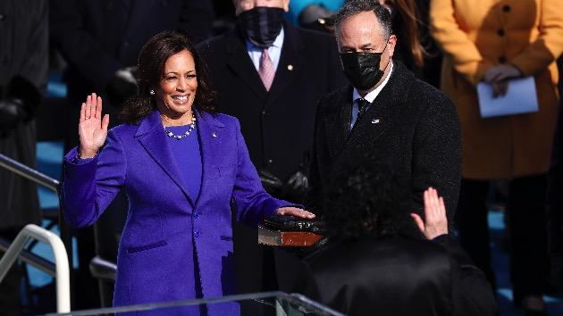 Howard University honors VP Kamala Harris with 49 bell tolls and 'Black national anthem'
