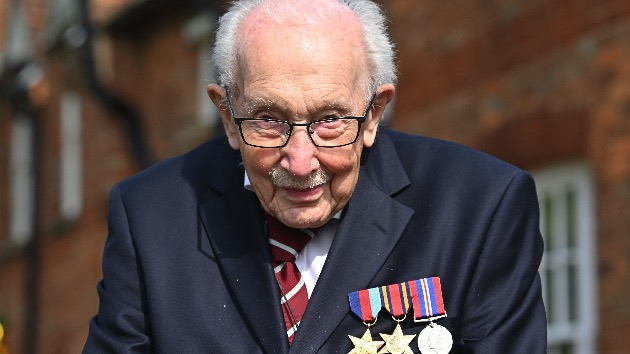 Sir Thomas Moore, WWII veteran who raised millions in COVID-19 funds, dies at 100