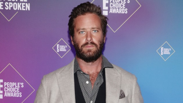 Armie Hammer dropped from 'Billion Dollar Spy' movie amid abuse allegations