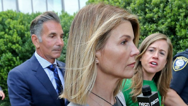 Lori Loughlin spotted in public for the first time since prison release