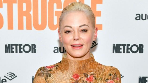 Rose McGowan praises women speaking out against ex Marilyn Manson