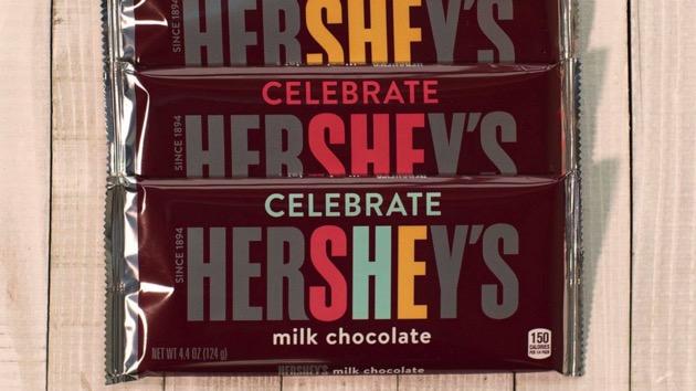 Hershey's celebrates International Women's Day with sweet new label