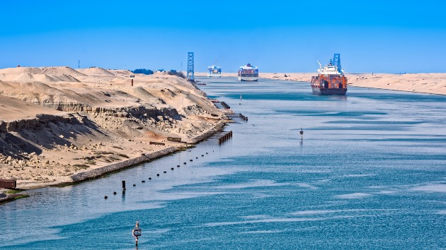 Engineers successfully free ship stuck in Egypt's Suez Canal