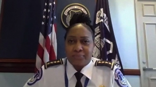 Acting Capitol Police chief denies her department failed to heed intel warnings
