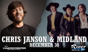 Chris Janson & Midland @ Viaero Center | Kearney | Nebraska | United States