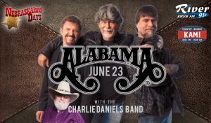 Alabama with Charlie Daniels Band @ Wild West Arena | North Platte | Nebraska | United States