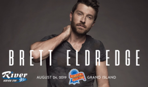 Brett Eldredge @ Nebraska State Fair | Grand Island | Nebraska | United States