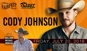 Cody Johnson with William Michael Morgan @ Adams County Fairfest | Hastings | Nebraska | United States