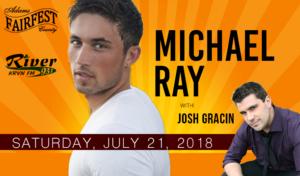Michael Ray with Josh Gracin @ Adams County Fairfest | Hastings | Nebraska | United States