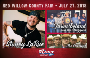 Stoney LaRue + Jason Boland & the Stragglers @ Red Willow County Fair
