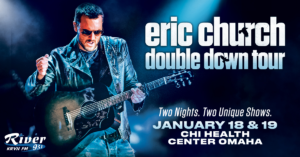 Eric Church @ CHI Health Center, Omaha