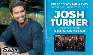 Josh Turner with Shenandoah @ Chase County Fair & Expo | Imperial | Nebraska | United States