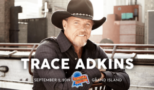 Trace Adkins @ Nebraska State Fair | Grand Island | Nebraska | United States