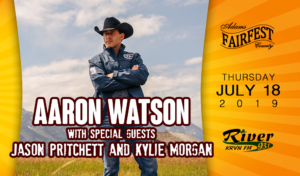 Aaron Watson @ Adams County Fairfest | Hastings | Nebraska | United States