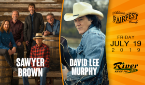 Sawyer Brown + David Lee Murphy @ Adams County Fairfest | Hastings | Nebraska | United States
