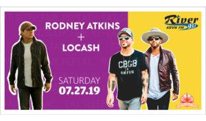 Rodney Atkins + LOCASH @ Buffalo County Fairgrounds