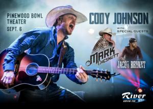 Cody Johnson @ Pinewood Bowl - Lincoln, Nebraska