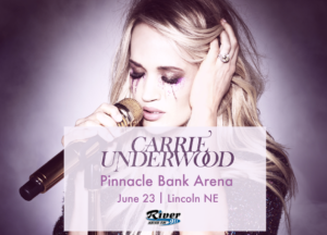 Carrie Underwood @ Pinnacle Bank Arena