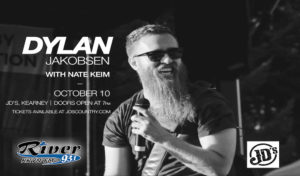 Dylan Jokobsen with Nate Keim @ JD's, Kearney, Nebraska