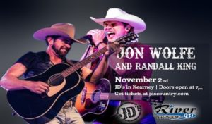 Jon Wolfe and Randall King @ JD's, Kearney, Nebraska