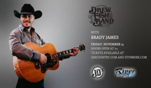 The Drew Fish Band with Brady James @ JD's