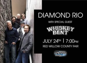 Diamond Rio With Special Guest Whiskey Bent @ Red Willow County Fair @ Red Willow County Fair
