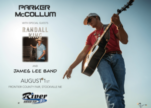 Parker McCollum with special guests Randall King and the James Lee Band @ Frontier County Fair @ Frontier Co. Fair
